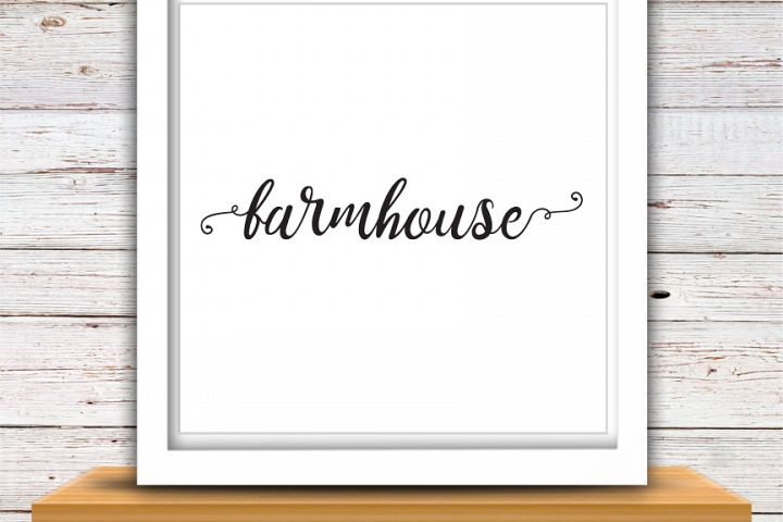Farmhouse | Farmhouse SVG | Farmhouse | High Quality Svg Eps Dxf Png Files | Cricut Files Silhouette Cameo | Instant Download