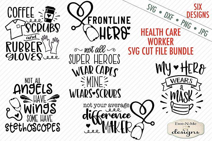 Healthcare Worker SVG Bundle - Nurse Doctor STNA