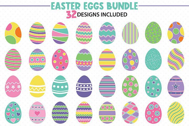 Easter Eggs Bundle Svg