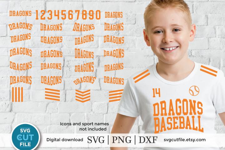 Dragon svg, Dragons svg, Dragon baseball svg, Dragons dxf
