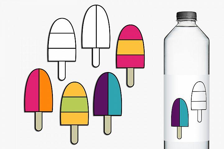 Summer Ice Cream Clip Art Illustrations example 1