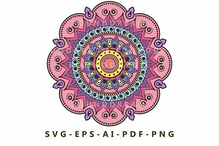 Mandala art   vector file
