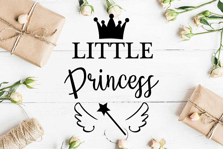 Little princess svg design