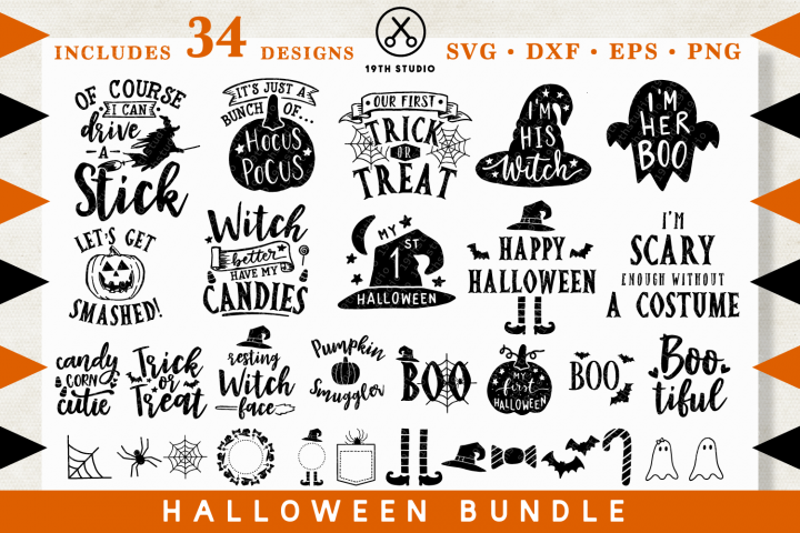 Halloween SVG Bundle - MB28