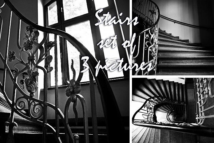 Stairs photo, architecture photo, photo set
