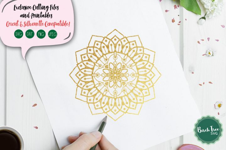 Mandala Svg, Mandala Cut File, Svg Cutting File, Zentangle