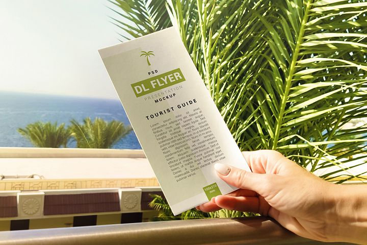 DL Flyer In Hand Mockup 02