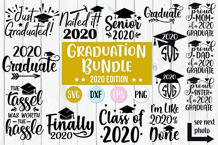 2020 Graduation Bundle Svg, 2020 Graduate, 2020 Senior Svg