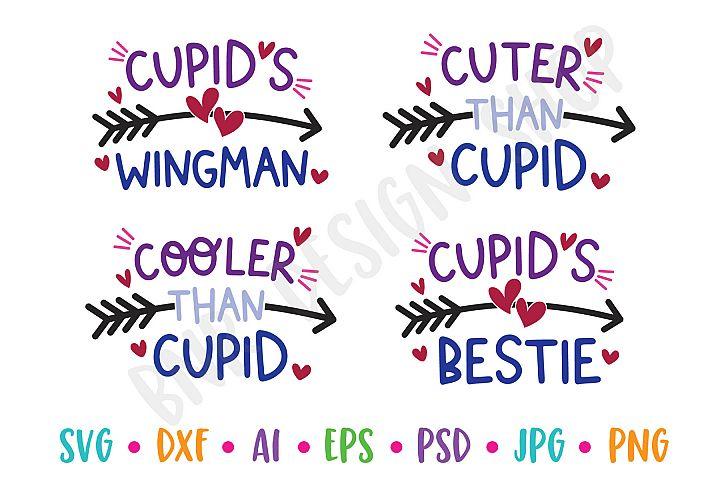 Cupid SVG Bundle, Valentine SVG, SVG File, Cut File