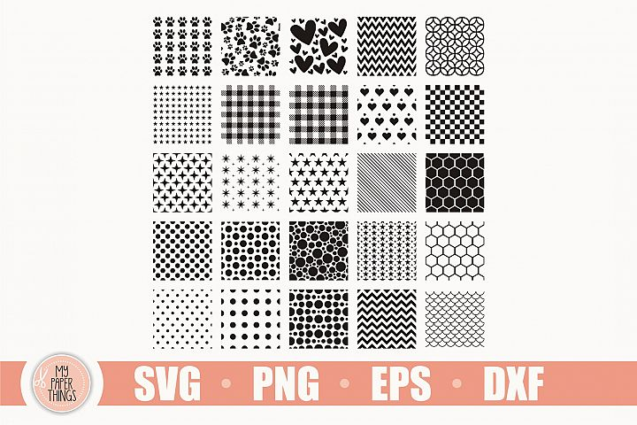 Seamless Pattern SVG Bundle