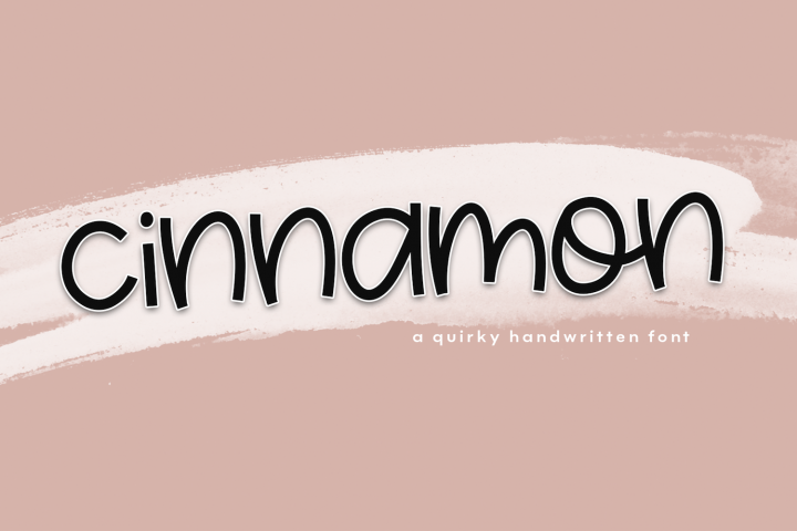 Cinnamon - A Fun & Quirky Font - Free Font of The Week