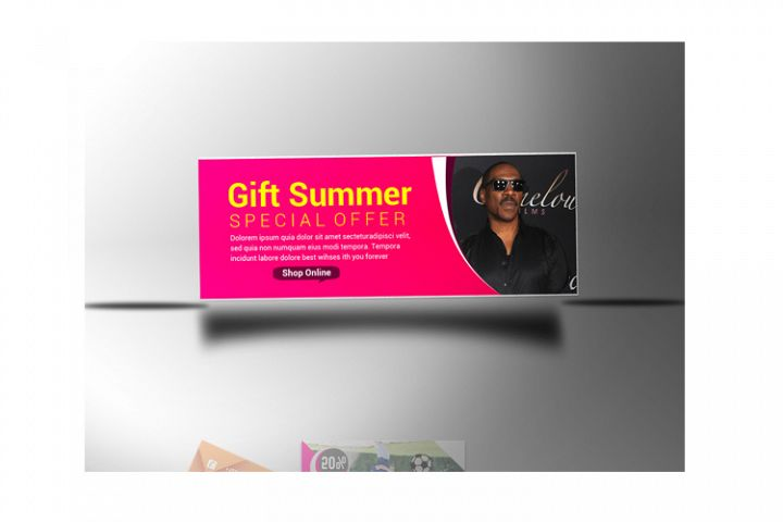 Gift Summer Banner