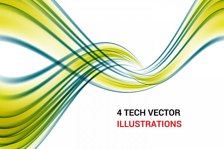 Tech Vector elements and backgrounds