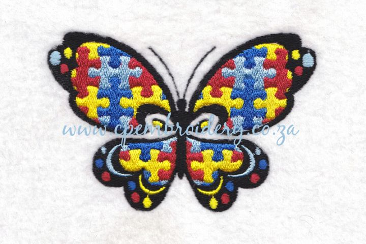 Butterfly Puzzle Detail Design Set of 4 Sizes