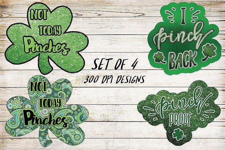Saint Patricks Day Design Bundle- Set of 4