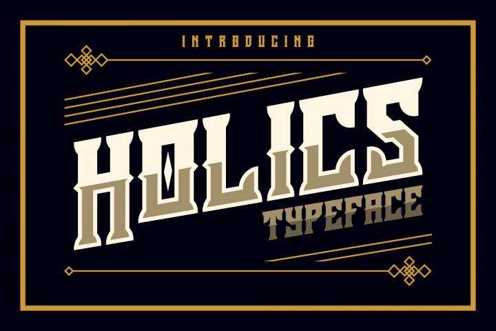Holics Typeface