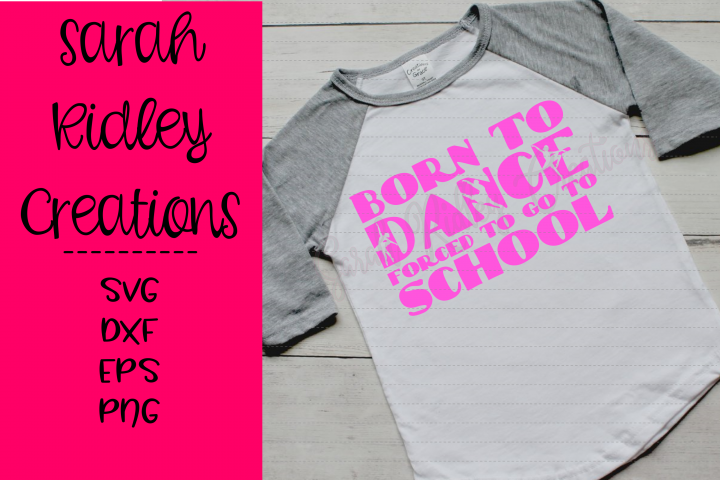 Born to Dance Forced to go to School