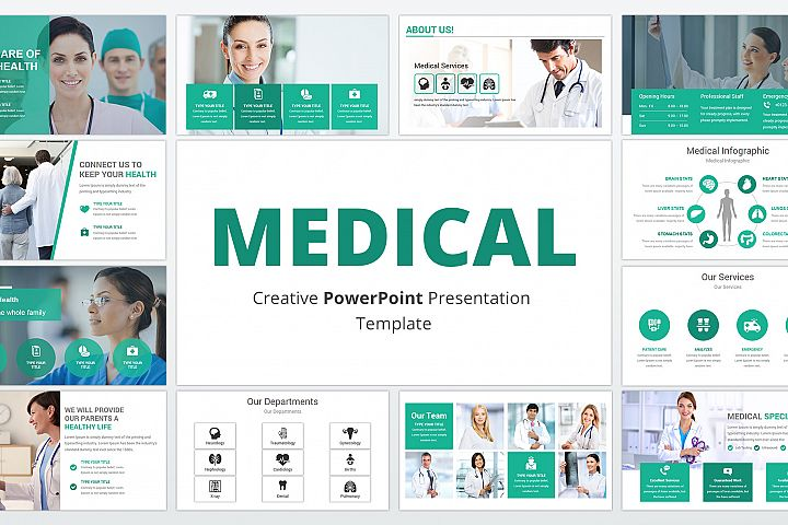 Medical and Healthcare Presentation PowerPoint Template
