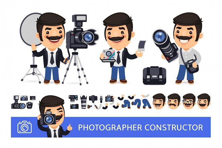Photographer Character Constructor
