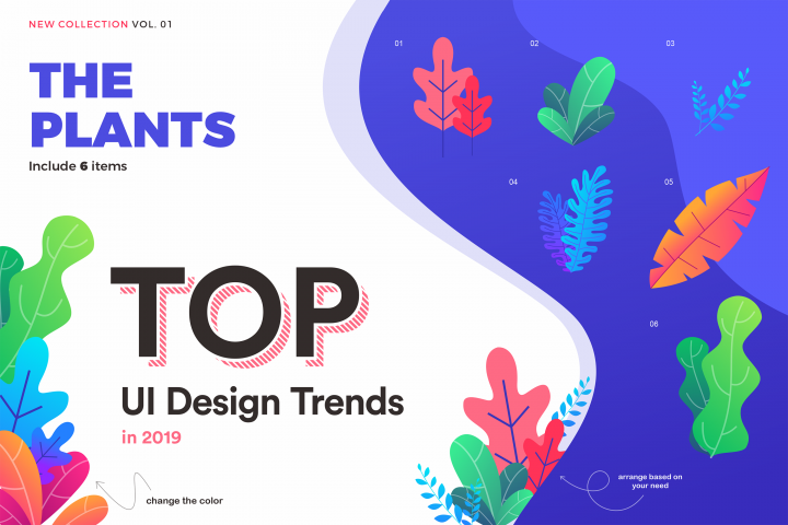 TOP! UI element designs