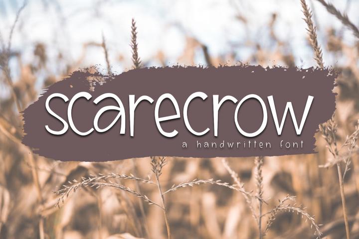 Scarecrow - A Handwritten Font
