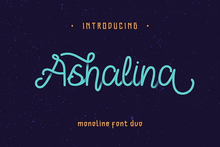 Ashalina Duo Font