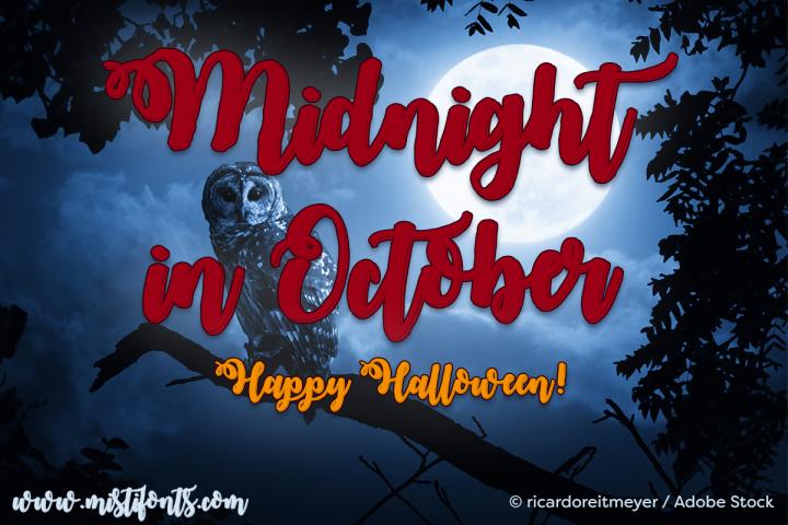 Midnight in October