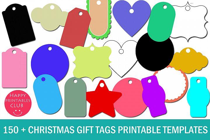 Christmas Gift Tags Printable Templates- Gift Tags Templates