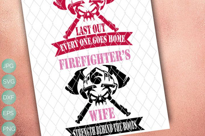 Fire - First in -  First Out- SVG // PNG // EPS // DXF