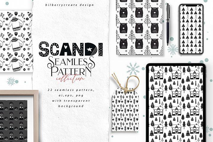 Scandi Seamless pattern