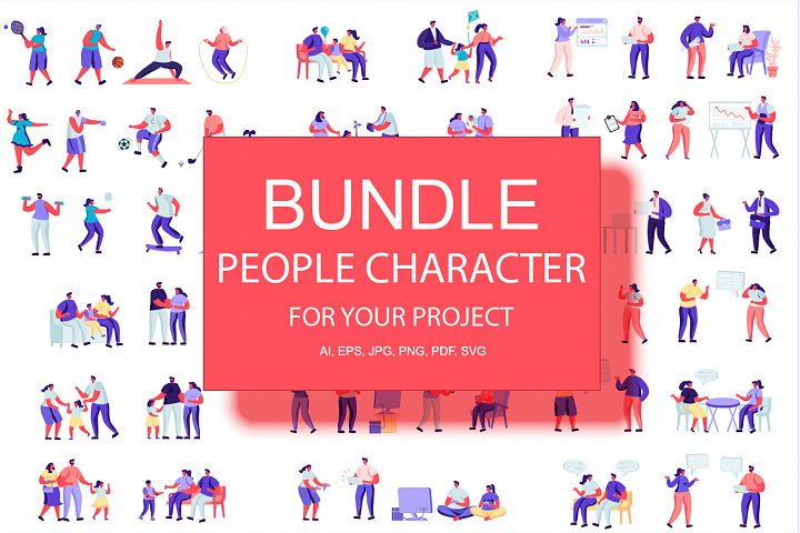 People Character Creator Kit