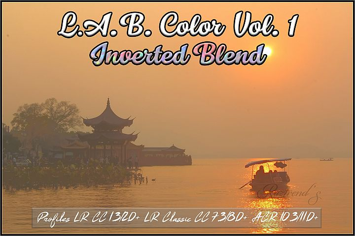 LAB Color Vol. 1 - Inverted Blend profiles LR & ACR
