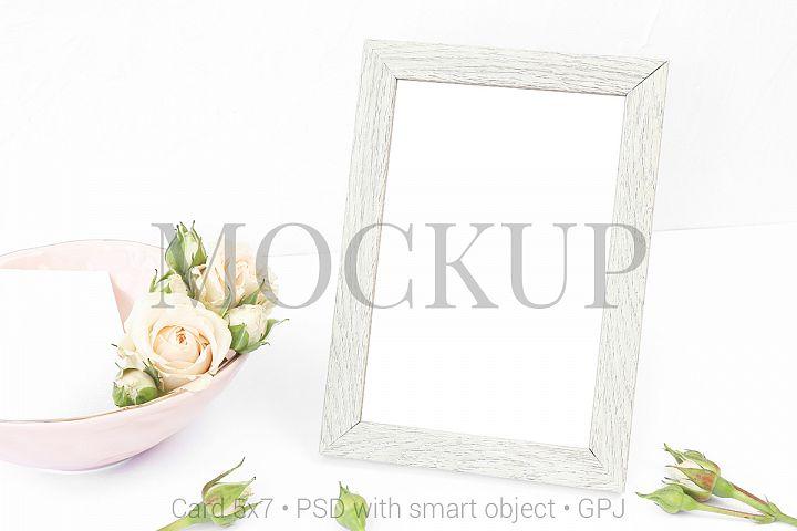 Mockup photo frame & FREE BONUS
