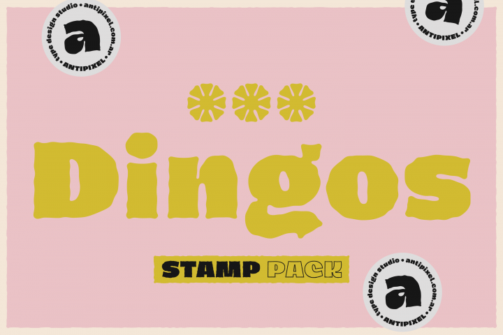 Dingos Stamp Pack