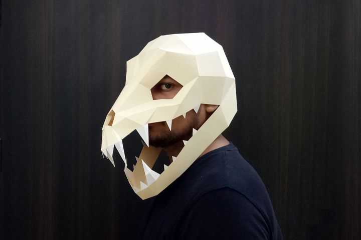 DIY Swooping evil Mask - 3d papercraft