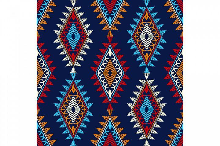 Ethnic boho ornament. Set of 10 seamless patterns.