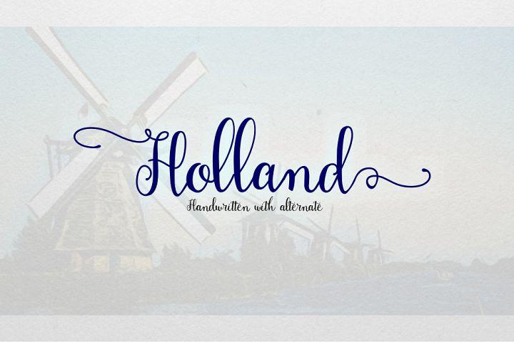 Holand Font example image 2