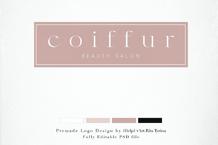 Beauty Salon Logo - Premade Logo Design