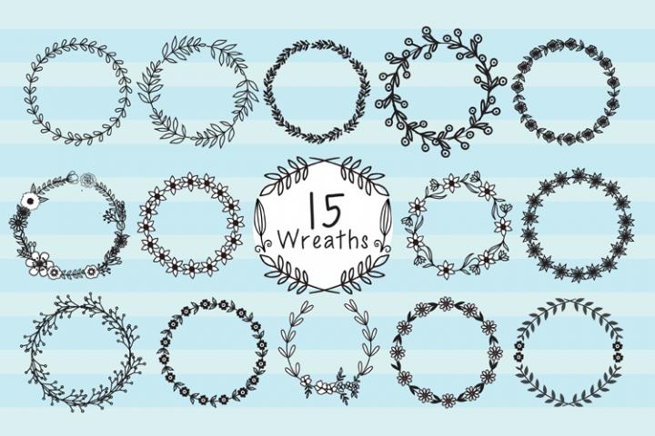 15 Wreaths