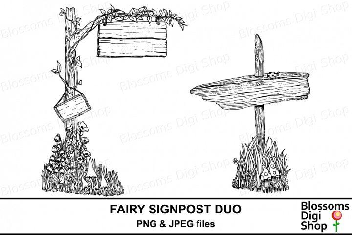 Fairy Signpost Duo