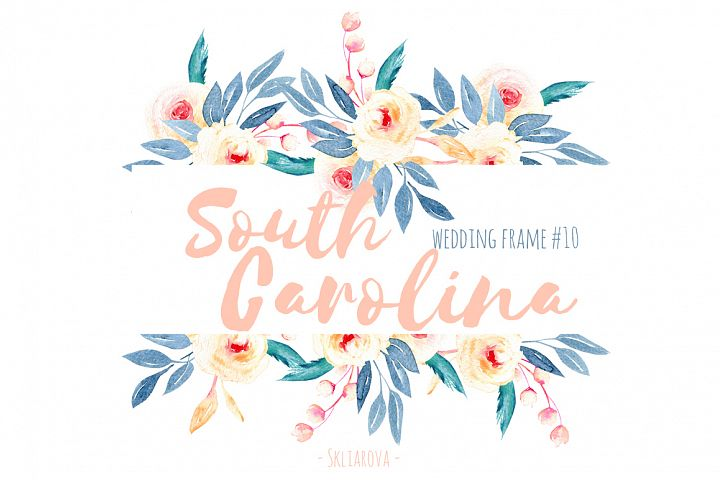 South Carolina. Wreath #10