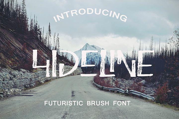 Hideline Font
