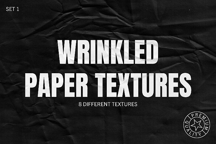 Wrinkled Paper Textures