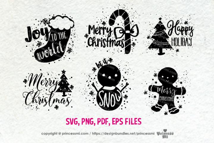 Christmas set / svg, eps, png file