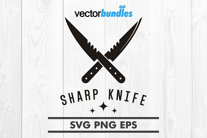 Sharp knife clip art svg