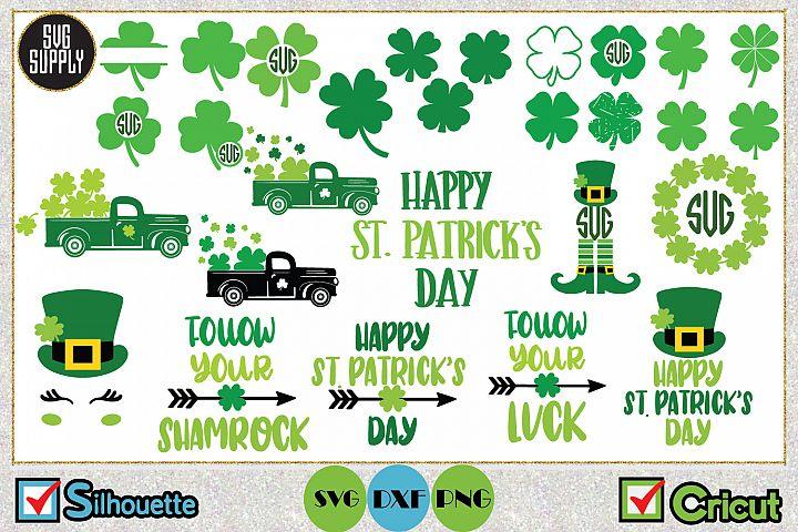 St. Patricks Day Bundle SVG Cut File
