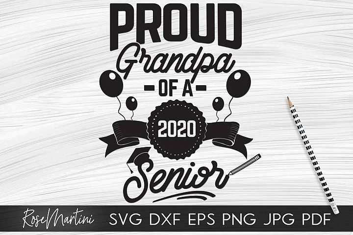 Proud Grandpa of a 2020 Senior Class of 2020 Graduation Grad