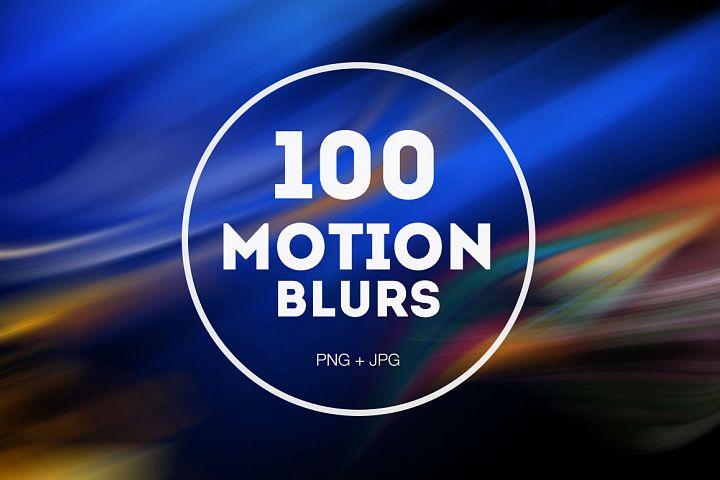 100 Motion Blurs Bundle