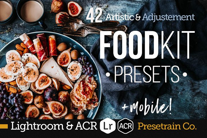FoodKit - Food Presets for Lightroom & ACR, Desktop & Mobile