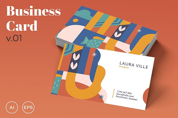 Business Card Template v01